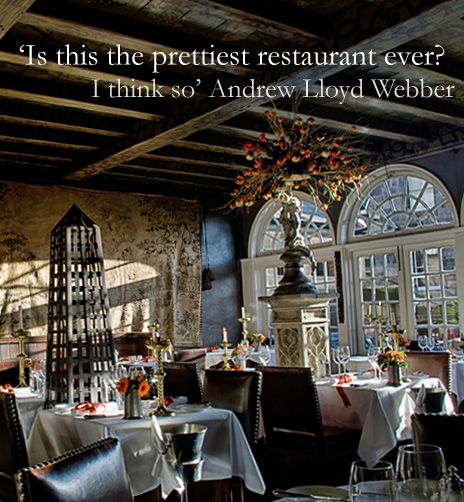 Dining in Edinburgh Boutique Gothic Hotel  The Witchery